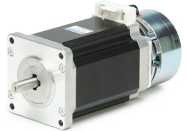 STEPPING MOTORS WITH BRAKE
