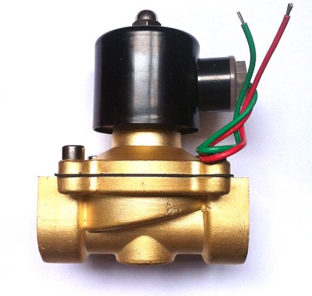 2W Brass Series 2-Way Direct Acting Solenoid Valve Normally Closed