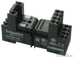RXZE2M114M –  Relay Socket, DIN Rail, Screw, 14 Pins, 10 A, 300 V, RXM Series