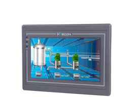 Wecon 7 inch 4 wire resistive touch screen hmi panel pc PI8070