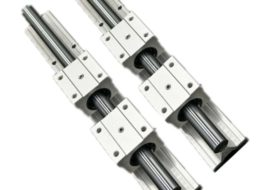 Linear Bearings and Rails round shape